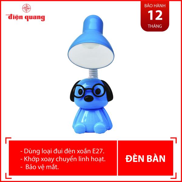 Đèn bàn bảo vệ thị lực Điện Quang ĐQ DKL17 B (Kiểu con chó , bóng led daylight)