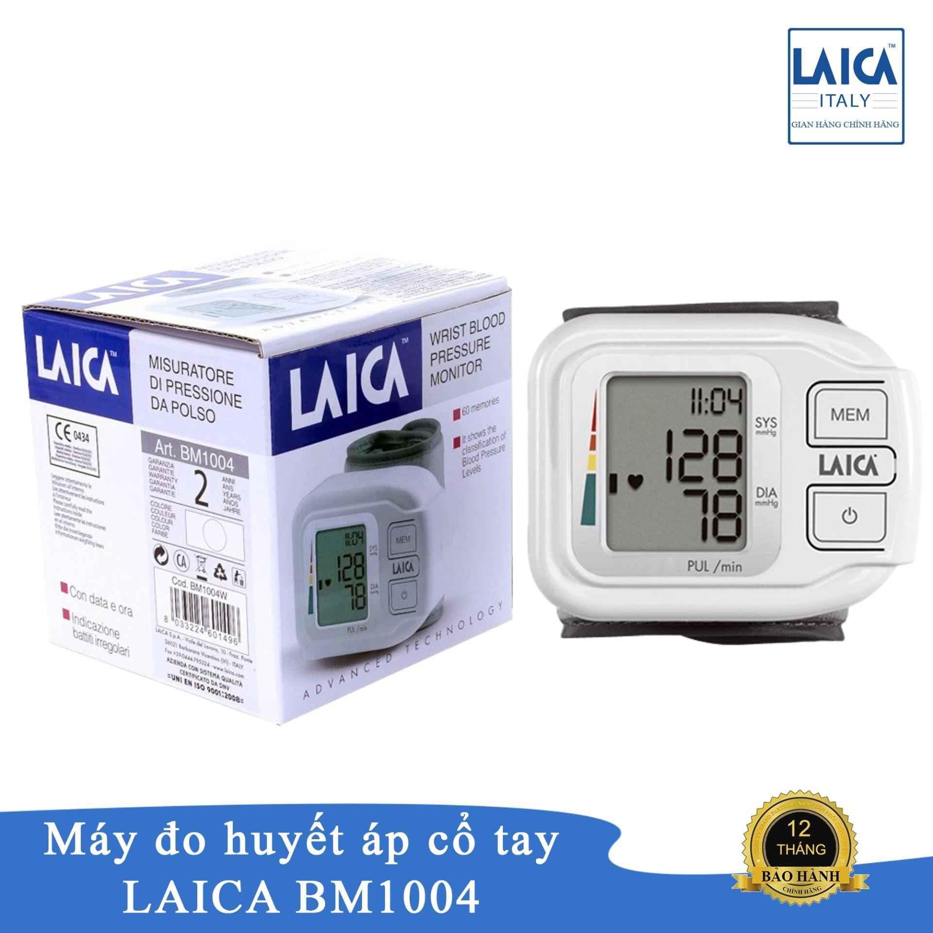 Máy đo Huyết áp  điện Tử Cổ Tay Laicai BM1004 Giá Ưu Đãi Không Thể Bỏ Lỡ
