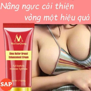 Kem Nở Ngực, Tăng Kích Thước Vòng Một, Làm Săn Chắc Hiệu quả Chiết Xuất Từ Bơ Shea Butter Breast Enhancement Cream (có che tên sản phẩm) thumbnail