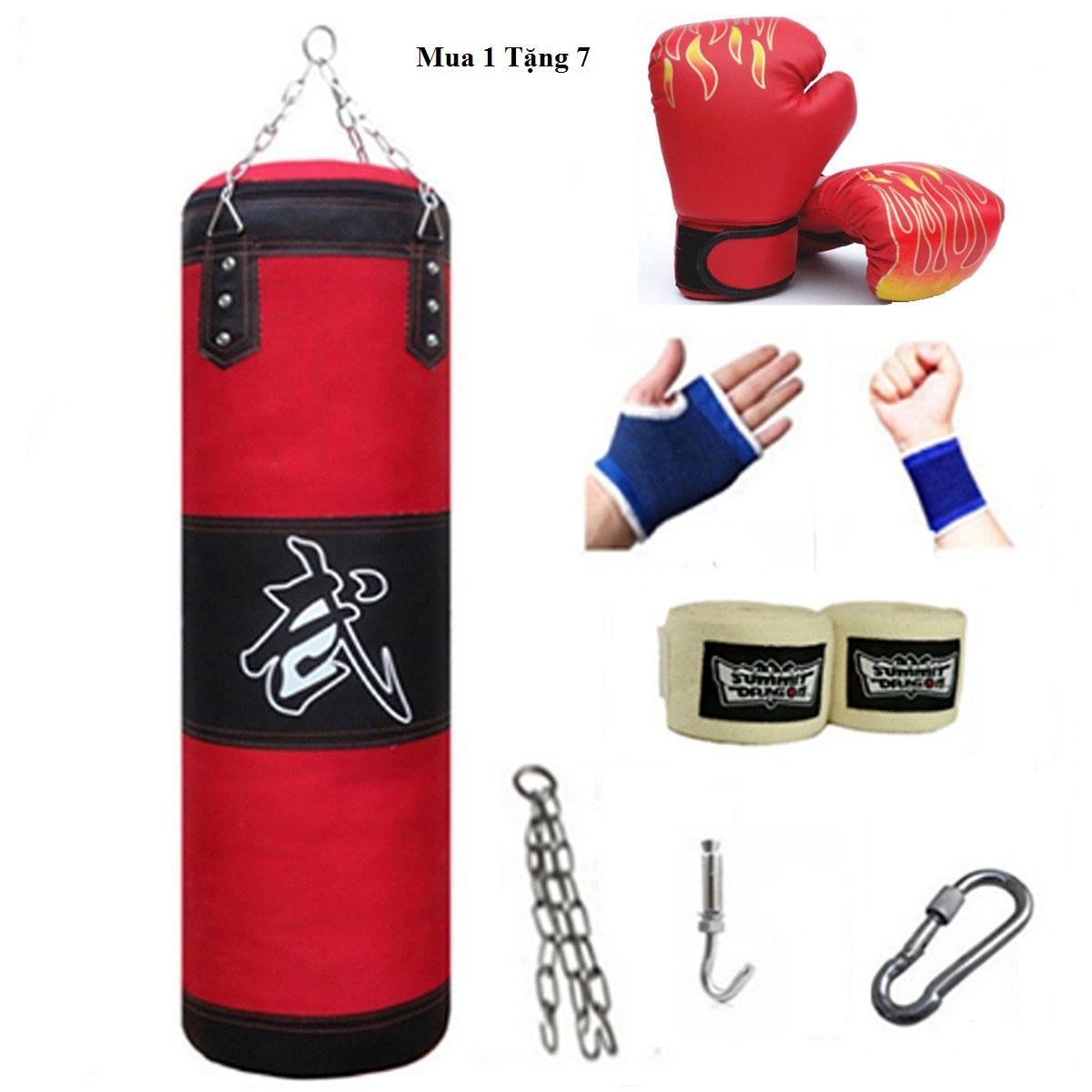 [Có Video] Vỏ Bao Đấm Bốc Treo Tường - Mua 1 Tặng 7 - Vỏ Bao Đấm Boxing 3 Lớp Đang Trong Dịp Khuyến Mãi