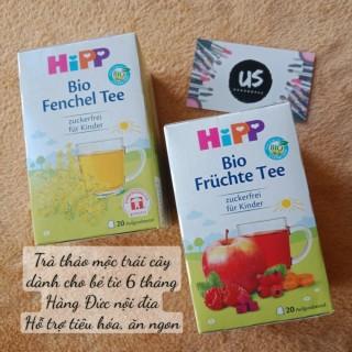 (Date 1 2023 - Hàng Đức) Trà Hipp nhiều vị hỗ trợ tiêu hóa, ăn ngon cho bé thumbnail