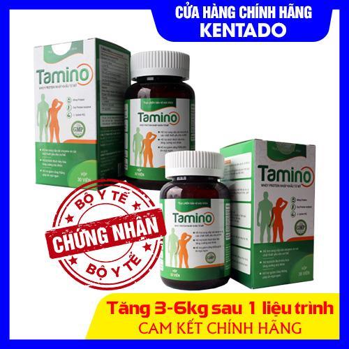 [ Combo 2 hộp ] Viên Uống Tăng Cân TAMINO -  Bổ Sung Hợp Chất Whey Protein từ Mỹ cao cấp