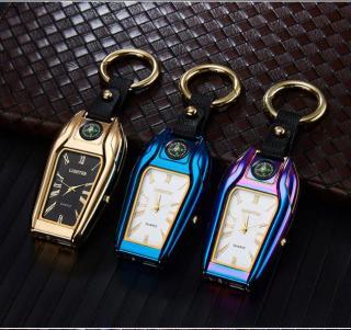 Đồng hồ siêu đa năng tích hợp nhiều chức năng - Bật lửa - La bàn - Móc khóa - MK đồng hồ thumbnail