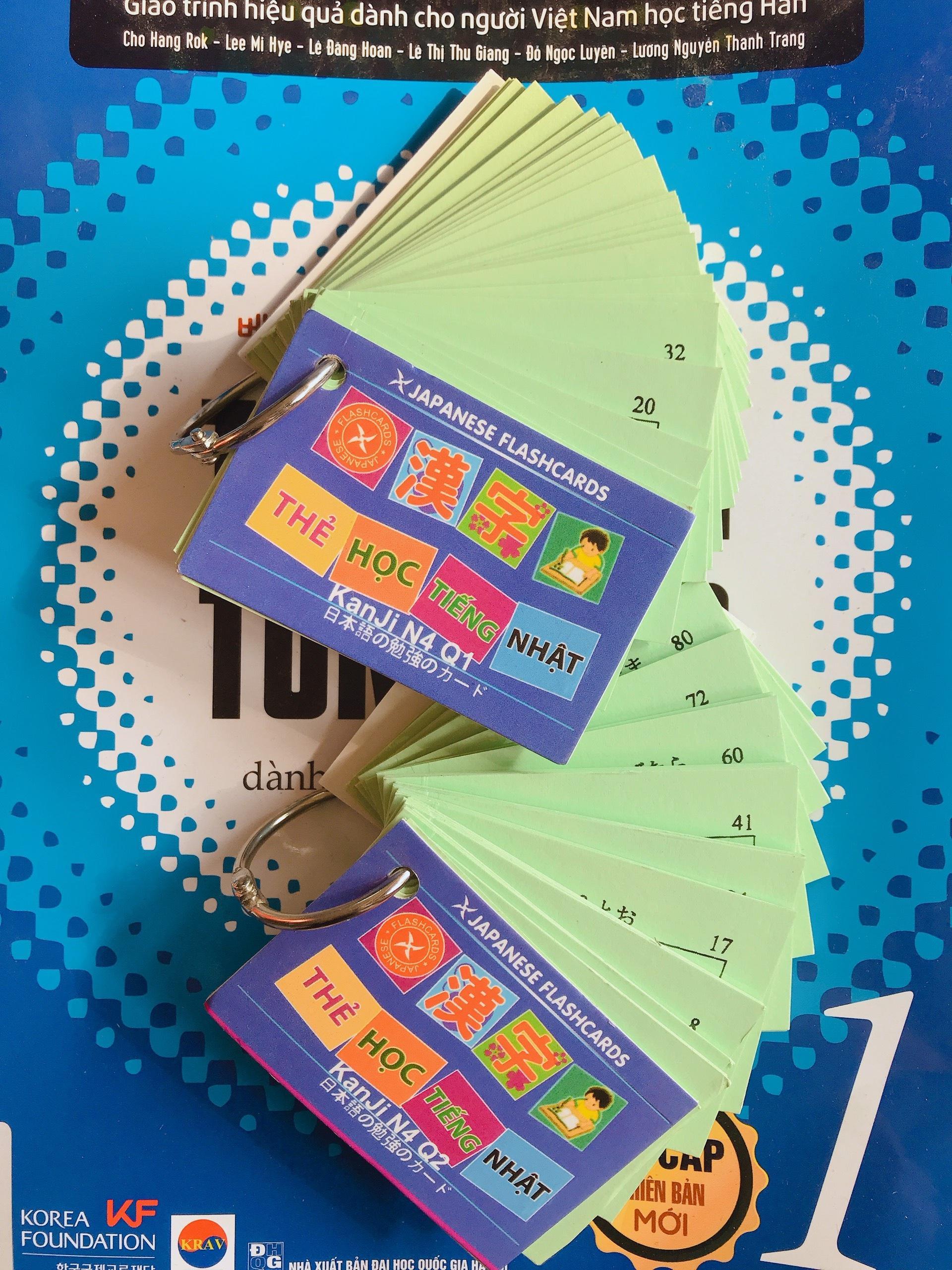 Mã Khuyến Mãi tại Lazada cho Thẻ Học Tiếng Nhật N4 - Thẻ Học Chữ Hán