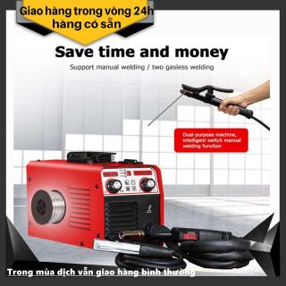 Máy hàn MIG Mini 275 3 chức năng - Tặng kèm 1 cuộn dây hàn lõi thuoc 1kg, 1 hộp mỡ hàn, 1 bép hàn - đầy đủ phụ kiên - bảo hành 15 tháng chính hãng thumbnail