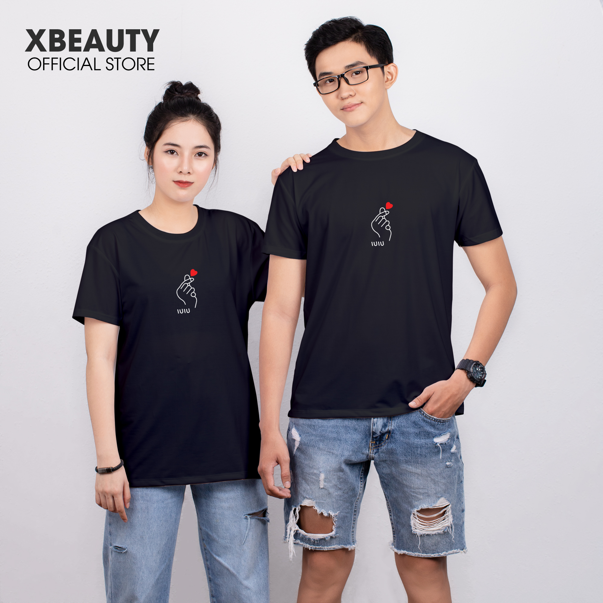 Áo thun nữ đẹp XBeauty J01 áo phông nữ vải Cotton 100% cao cấp. Có 6 màu (Đen/Hồng/Trắng/Vàng/Xám/Xanh Đậm). Áo thun thời trang Nữ cá tính sang trọng