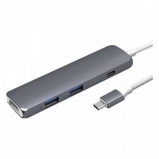 Cổng Chuyển Hyperdrive USB-C Hub With 4K HDMI Support (GN22B) thumbnail