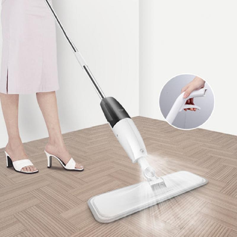 Máy lau rửa sàn nhà phun nước phun sương đa năng Deermar bộ lau nhà, cây lau nhà kèm bình xịt nước thông minh