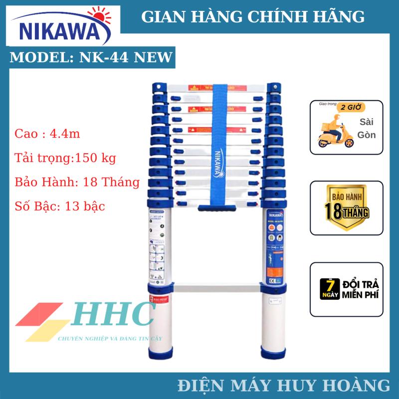 Thang nhôm rút gọn, Thang nhôm rút đơn Nk-44 New, NK-44 Pro model 2021