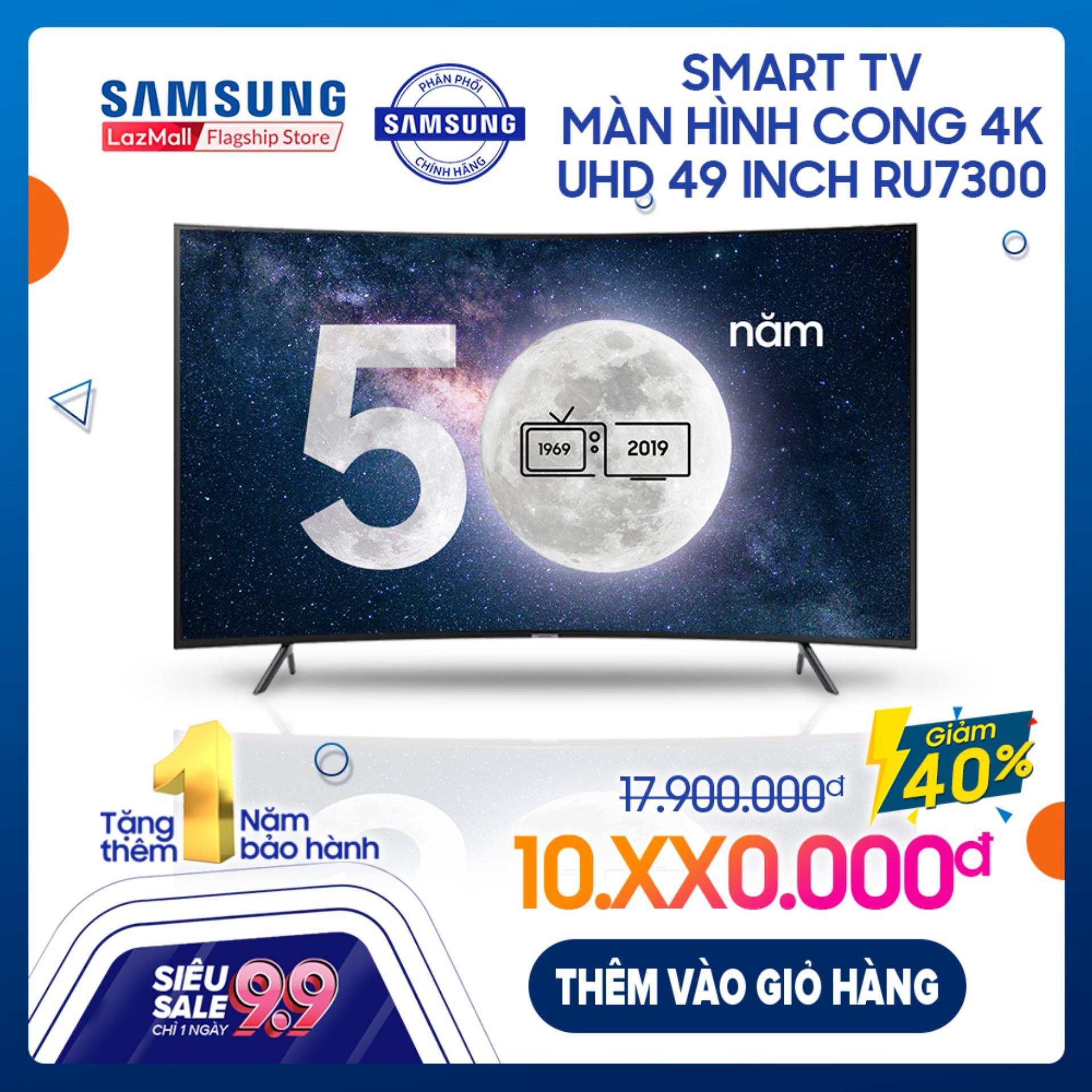 Smart TV Samsung màn hình cong 4K UHD 49 inch...