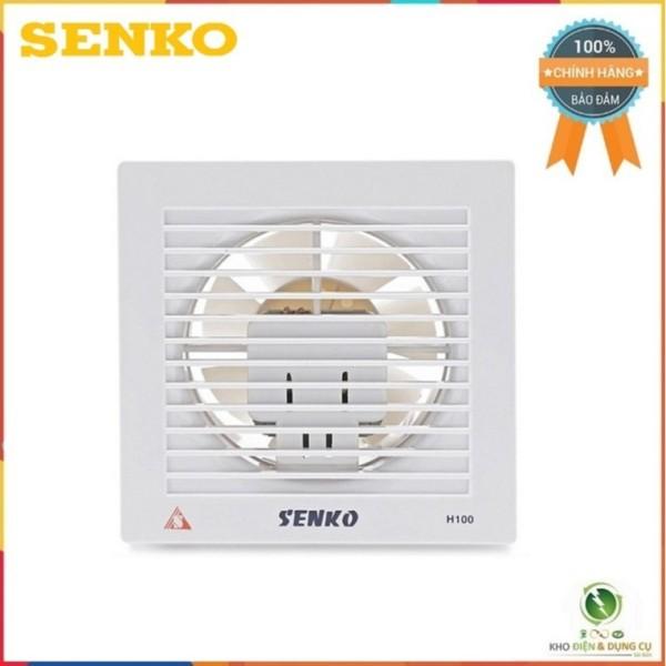 Quạt hút thông gió, quạt hút âm tường H100 Senko chính hãng bảo hành 2 tháng miễn phí