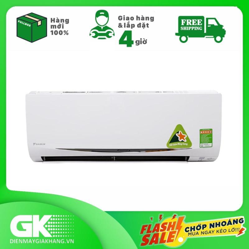 Bảng giá Máy lạnh Daikin Inverter 1 HP 9000 BTU FTKC25UAVMV, Kháng khuẩn khử mùi, Chế độ làm lạnh nhanh