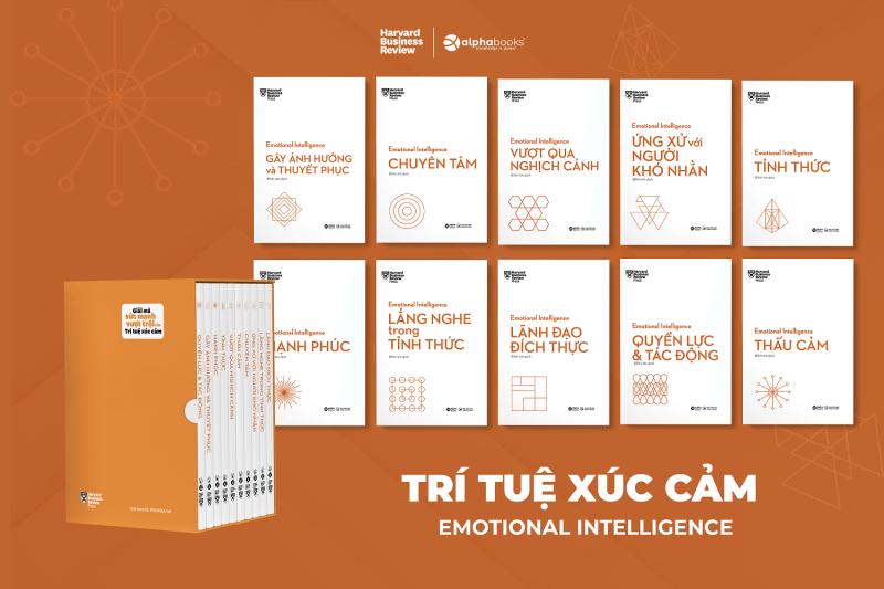 nguyetlinhbook - Sách - HBR Trí Tuệ Xúc Cảm – Emotional Intelligence (Bộ 10 Cuốn) - NXB Công Thương