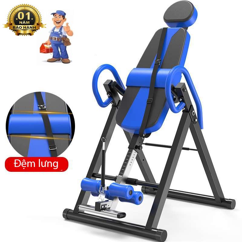 Ghế tập dốc ngược, hỗ trợ điều trị đau thắt lưng bằng trọng lực tự thân - ghế điều trị đau thắt lưng dốc ngược