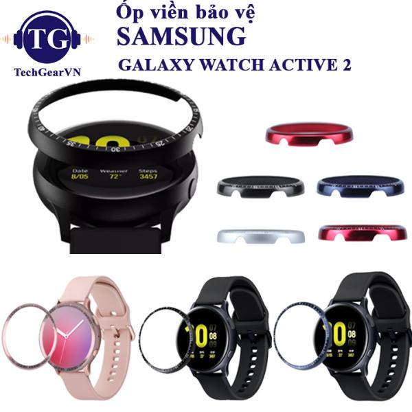 Khung Viền Bezel bảo vệ đồng hồ Samsung Galaxy Watch Active 2