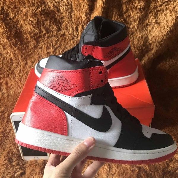 Giày thể thao Jordan xám cao cổ hot trend dior sneaker nam nữ