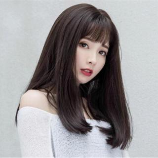 Tóc giả nữ Hàn Quốc + Tặng kèm lưới T190 thumbnail