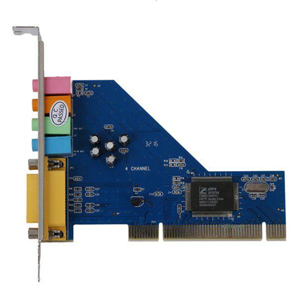 Bảng giá KUILAOZ Chip Âm Thanh 3D Giao Diện PCI Bền Bỉ 8738, Card Âm Thanh Công Nghệ Âm Thanh Nổi 4 Kênh Phong Vũ