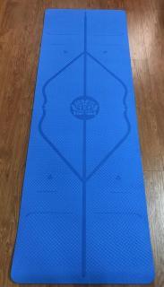 Thảm tập Yoga TPE Định tuyến 8mm (Tặng túi đựng thảm + Dây buộc) thumbnail