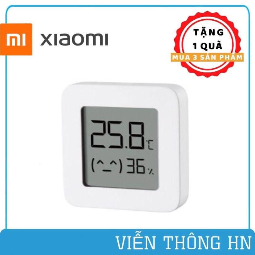Đồng hồ đo nhiệt độ và độ ẩm xiaomi mijia gen 2 mini - đồng hồ thông minh kết nối bluetooth 4.2 BLE - vienthonghn
