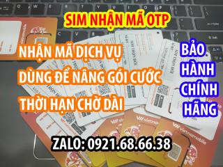 [HCM]Sim 4G không tài khoản chính + Data dùng nhận mã đăng ký các dịch vụ shopelazagmai... thumbnail