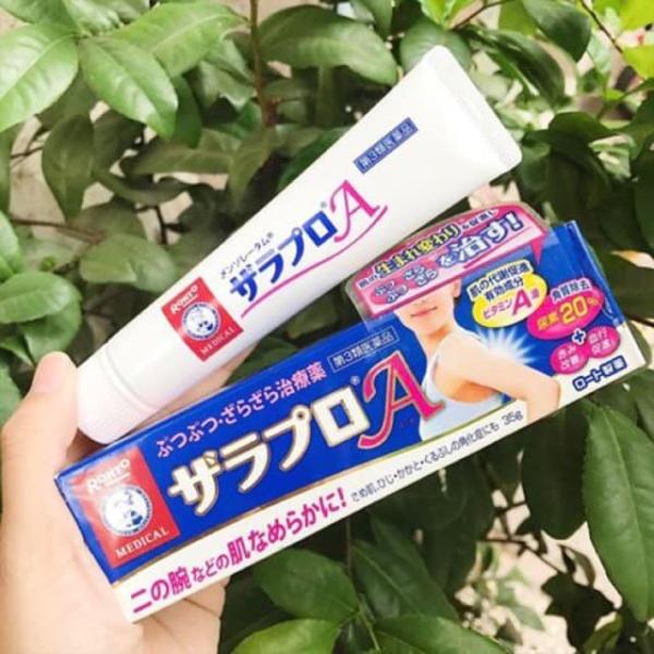 [NỘI ĐỊA NHẬT] 🐧 Kem Trịêt Viêm 🐧Nang Lông Rohto Nhật Bản 35g