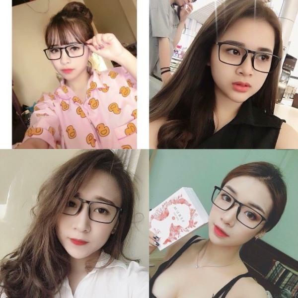 Giá bán [HCM]Gọng Kính dẻo unisex nam nữ Hotgirl Hàn Quốc thời trang - gọng mảnh - dễ thương nhẹ
