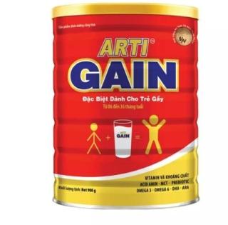 Sữa Arti Gain Đỏ Dành cho trẻ Biếng ăn, Nhẹ Cân 900g (CAM KẾT CHÍNH HÃNG, DATE MỚI) thumbnail