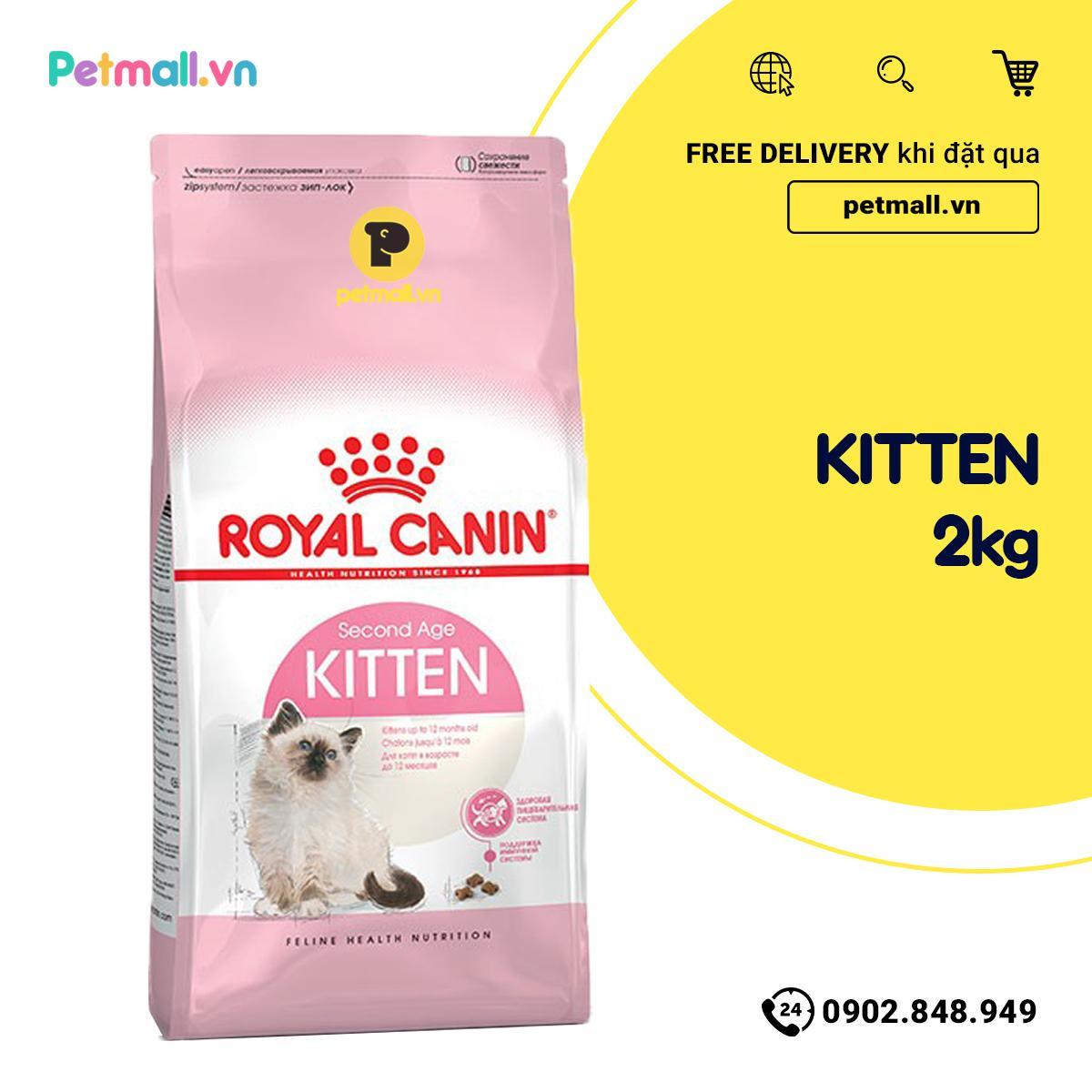 Offer Ưu Đãi Thức ăn Mèo Royal Canin KITTEN 2kg