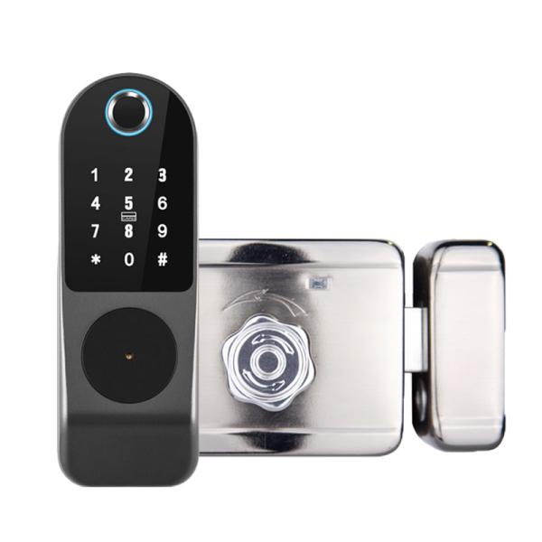 Khóa cửa vân tay, mã số, thẻ từ kèm App theo dõi trên điện thoại Smart Life