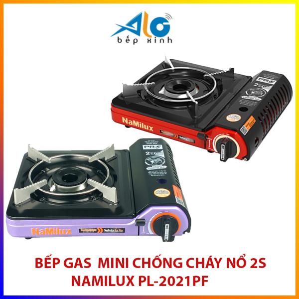 Bếp ga mini Namilux 2S CHỐNG CHÁY NỔ - PL2021PF - bếp gas mini PL 2021PF  Alo Bếp Xinh