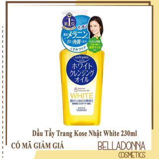 [Có Mã Giảm Giá] Dầu tẩy trang trắng da Kose softymo White cleansing oil 230ml thumbnail