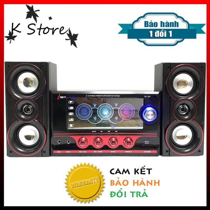 [ MỌI NGƯỜI ƠI ] Loa gia đình-Dàn loa karaoke gia đình-Loa vi tính- Loa vi tính hát karaoke có kết nối Bluetooth-Loa karaoke- Loa ISKY 385-Loa nghe nhạc hay-KSTORE