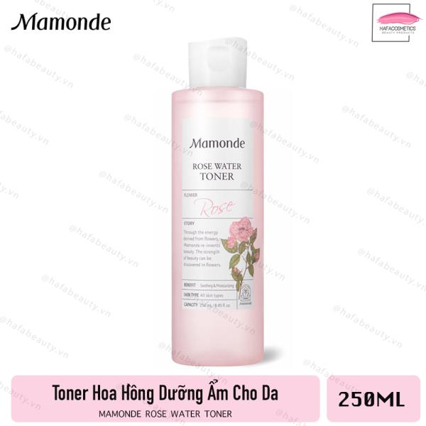Nước Hoa Hồng Siêu Dưỡng Ẩm Mamonde Rose Water Toner 250ml giá rẻ