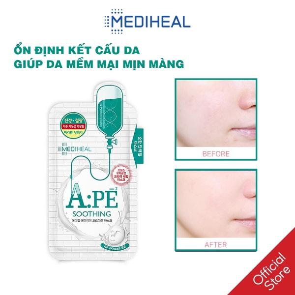 Mặt Nạ Giảm Viêm- Kích Ứng Da Mediheal A:PE Proatin Mask 25ml cao cấp