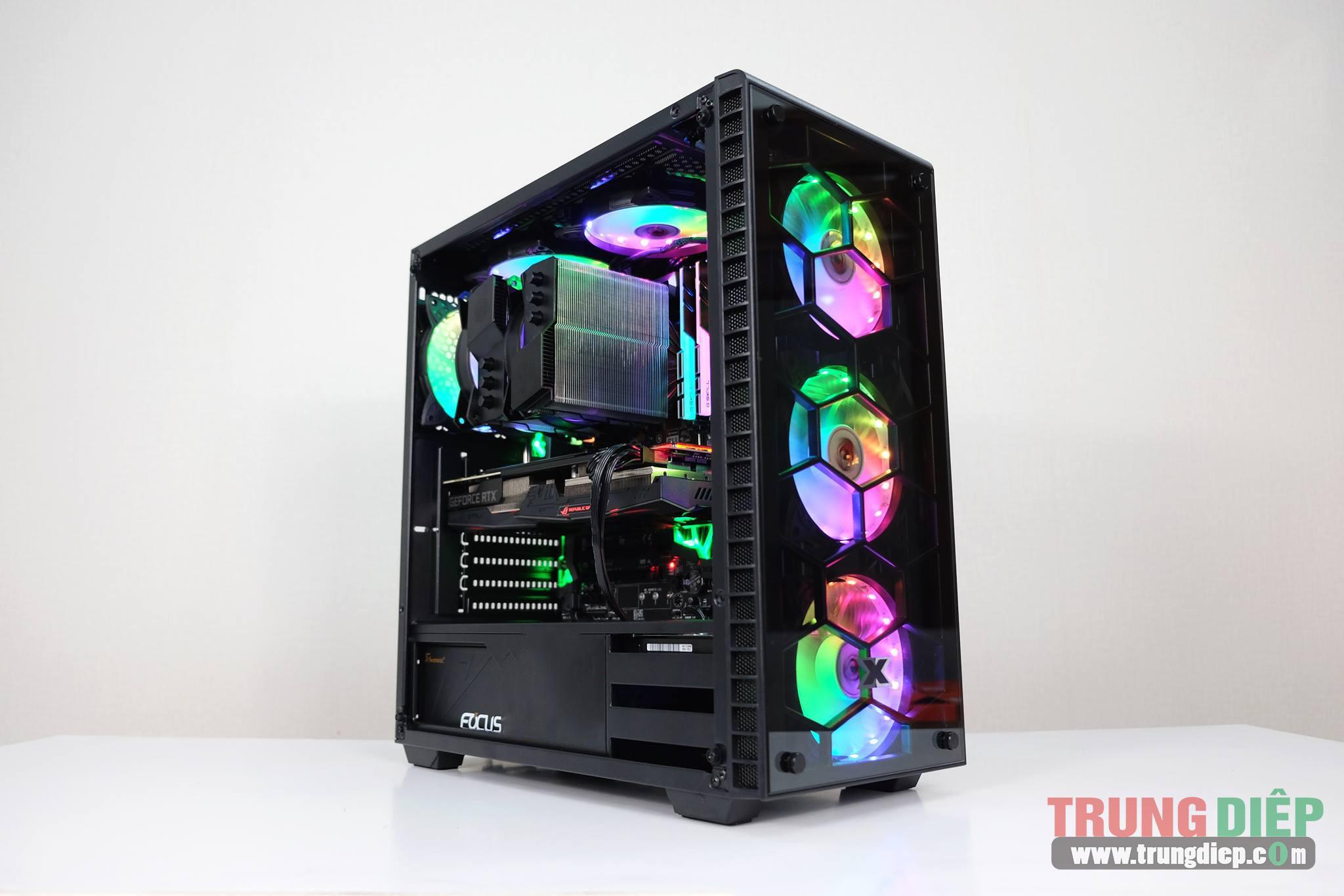 Vỏ máy tính (Case) Gaming Xigmatek Venom [no fan]