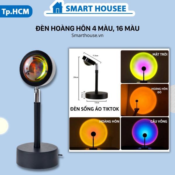 Đèn Hoàng Hôn Sunset LED TIKTOK HOT TREND Chiếu đèn chụp ảnh, quay video, livestream có cả loại 4 màu và 16 màu