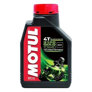 Nhớt xe máy số cao cấp Motul Gold 3100 10W40 - sản phẩm mới cấp độ cao cấp thumbnail