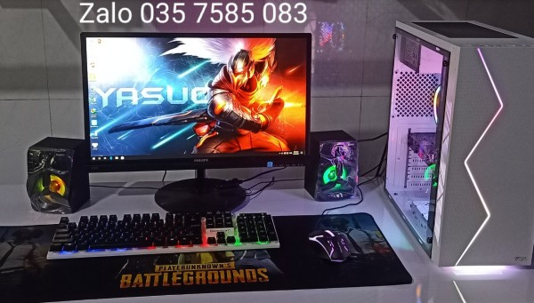 Bảng giá Bộ PC Led  7 màu cấu hình cao chuyên trị game Online giá rẻ...Mua bộ PC Led có Tặng Phím chuột Led + Cặp LOA âm thanh có Led nghe rất hay Phong Vũ
