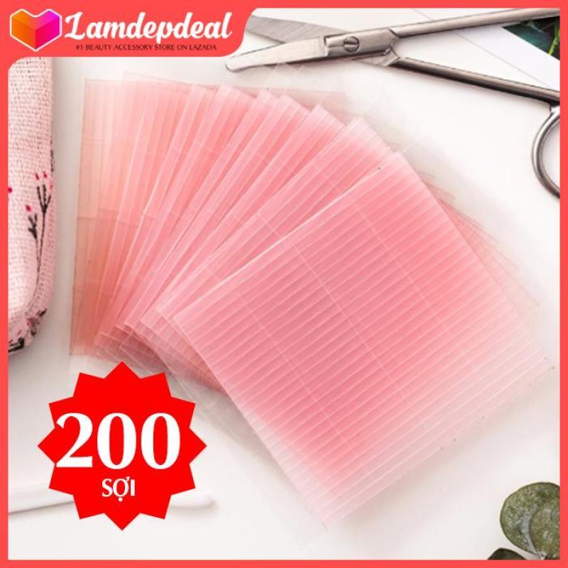 Lamdepdeal -Combo 200 Sợi Chỉ Tạo Mắt 2 Mí Double Eyelid + Tặng cây kích mí chữ Y trị giá 20.000đ (NSX 2019) -  Dụng cụ trang điểm cao cấp
