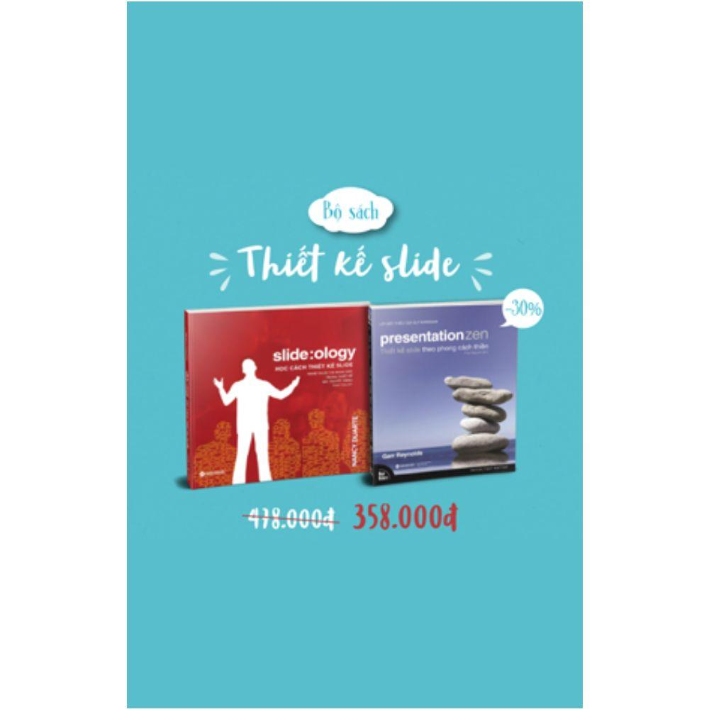 Offer Khuyến Mãi Combo Sách Học Cách Thiết Kế Slide