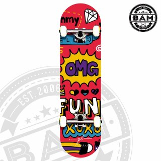 Ván Trượt Thể Thao Nguyên Bộ ( PL Skate Board ) CHÍNH HÃNG CỦA SHOP tự thiết kế thumbnail