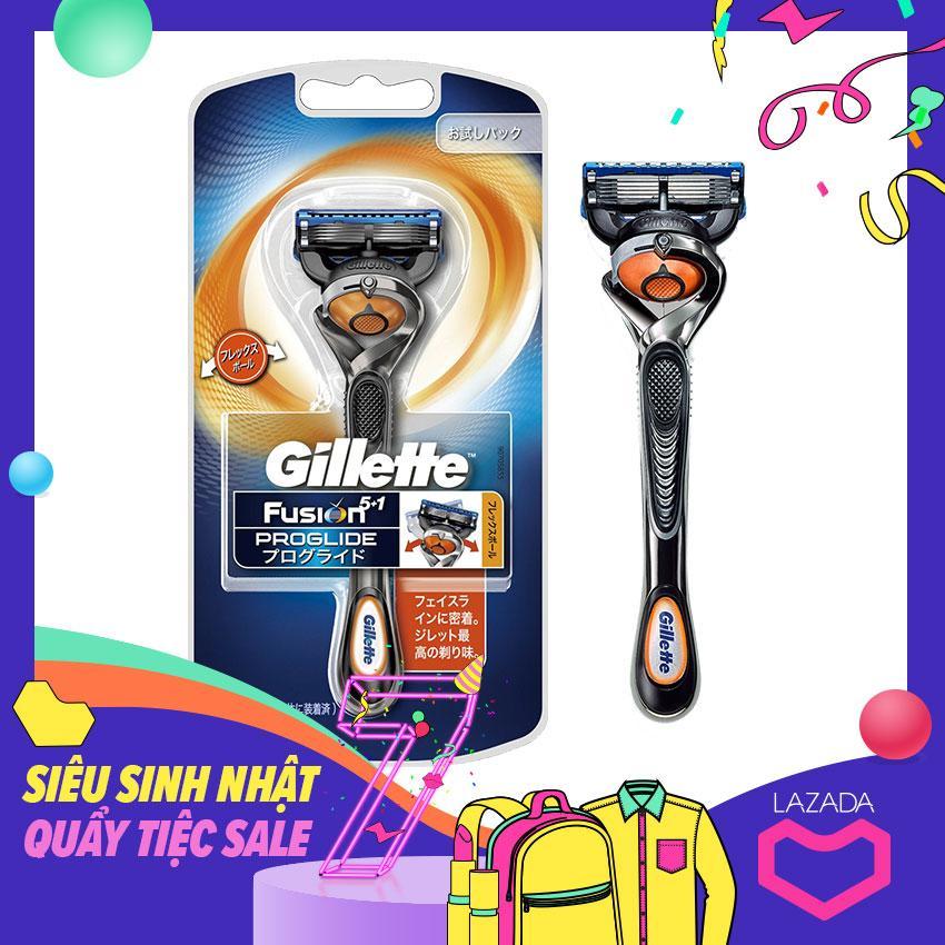 Dao cạo râu Gillette Fusion 5 + 1 Proglide Nhật Bản nhập khẩu