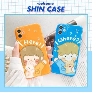 Ốp lưng iphone Couple Neon dành cho iphone 6 6S 6Plus 6SPlus 7 7Plus 8 8Plus X Xs XR XSmax 11 11pro 11promax - Shincase - d05 thumbnail