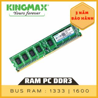 Ram PC DDR3 4G chính hãng KingMax bus 1600, Bảo hành chính hãng 3 năm thumbnail