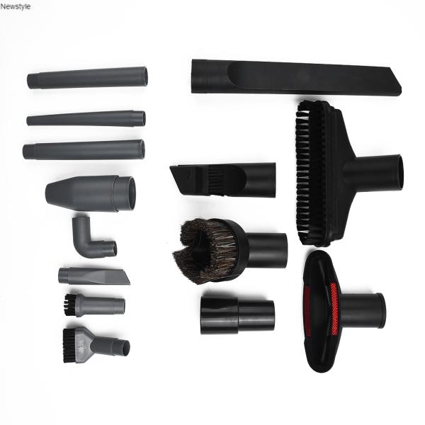 Bộ vòi hút + đầu nối + cọ làm sạch 15 món chuyên dụng cho máy hút bụi