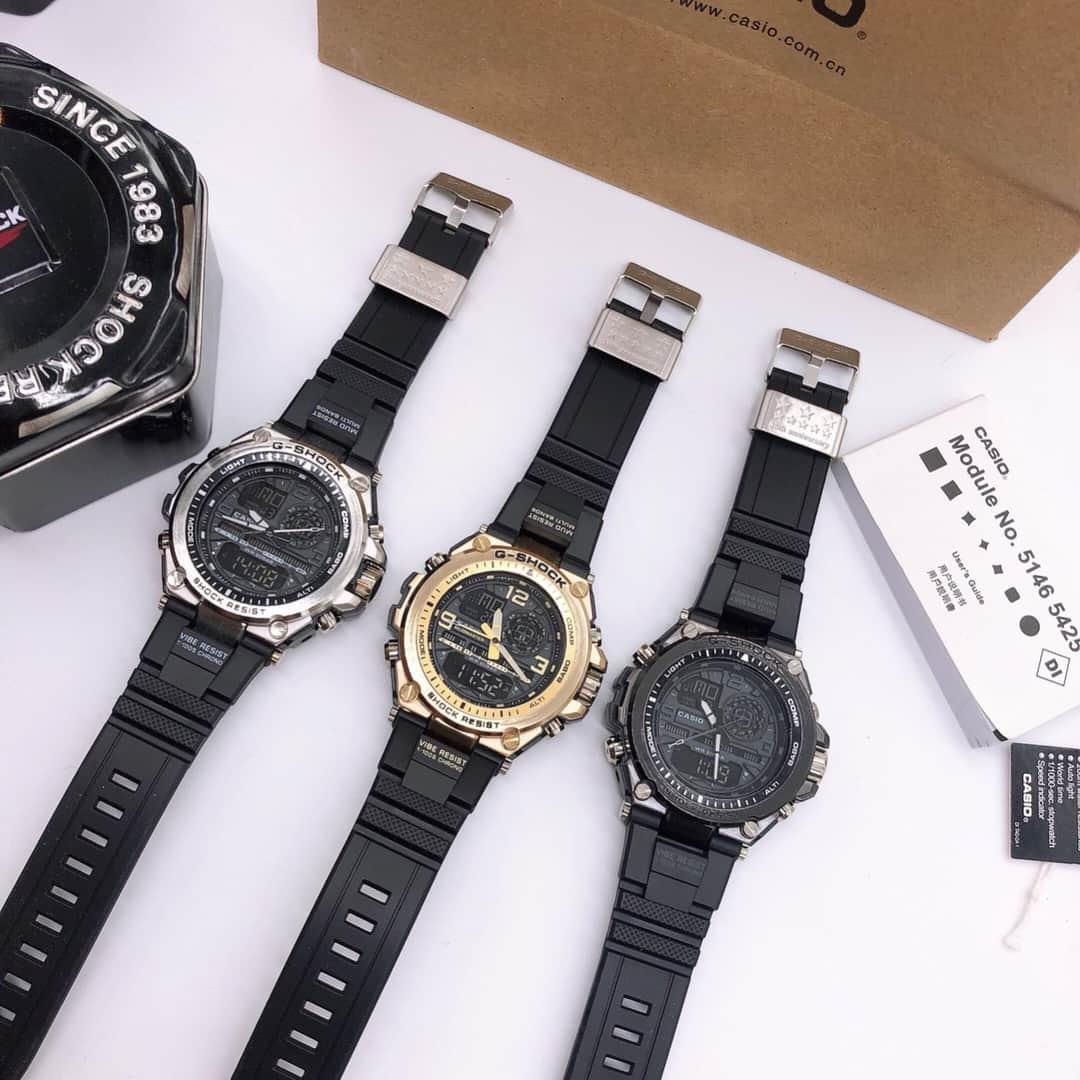 Đồng hồ nam Casio G-shock MTG S1000 Original Full box- Kim điện tử-Chống nước 5ATM-Viền Thép không gỉ-ME-WATCH
