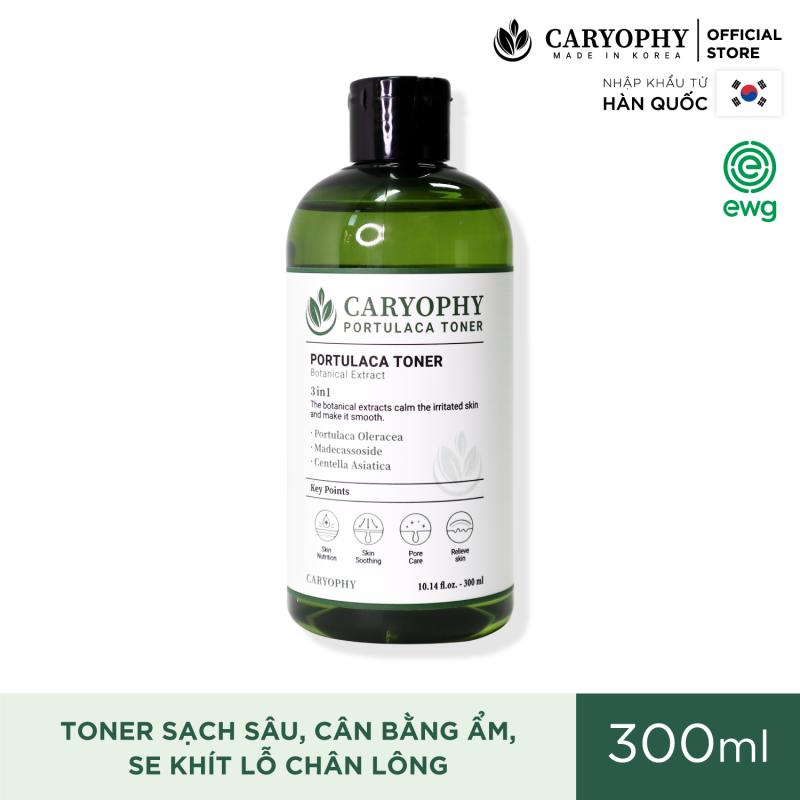 Toner Cho Da Dầu Mụn Caryophy Portulaca Toner 300ML giá rẻ