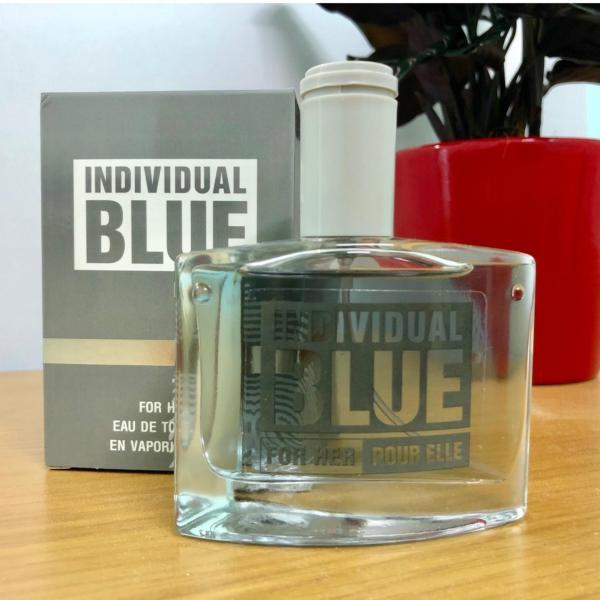 Nước Hoa Cho Nữ INDIVIDUAL BLUE Pour Elle 50ml (Bạc)