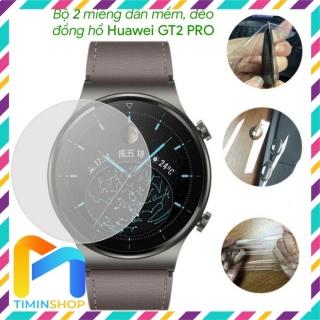 [2 miếng] Dán đồng hồ Huawei GT2 PRO thumbnail